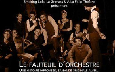 Le Fauteuil d'Orchestre par Smoking Sofa et la Grimass